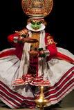 Dançarino de Kathakali, India Imagens de Stock