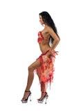 Dançarino de Latina Fotos de Stock