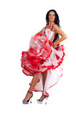 Dançarino de Latina imagens de stock