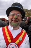 Dançarino de Morris em Jack no festival verde Foto de Stock