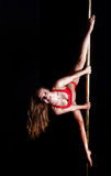 Dançarino de Polo foto de stock royalty free