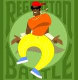 Dançarino de Reggaeton Ilustração Stock
