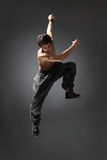 Dançarino de salto imagens de stock royalty free