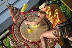 Dançarino de Thailandese Fotografia de Stock Royalty Free