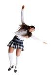 Dançarino de torneira fêmea imagens de stock