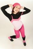 Dançarino deleitado Fotos de Stock