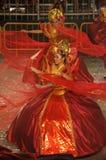 Dançarino do amor sagrado (Puteri Gunung Ledang) Foto de Stock Royalty Free
