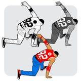 dançarino do B-menino Imagem de Stock