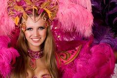 Dançarino do carnaval imagens de stock royalty free