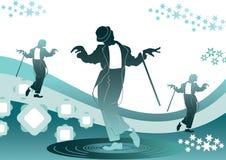 Dançarino do disco Ilustração do Vetor