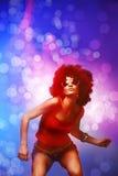 Dançarino do disco Fotografia de Stock Royalty Free
