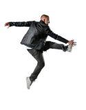Dançarino do estilo de Hip Hop fotos de stock royalty free