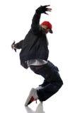 Dançarino do estilo de Hip-hop imagem de stock royalty free