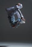 Dançarino do hip-hop Foto de Stock