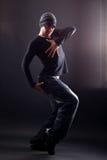 Dançarino do homem de Wacking fotos de stock royalty free