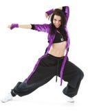 Dançarino do lúpulo do quadril imagem de stock royalty free
