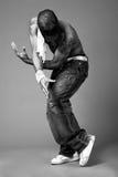 Dançarino do lúpulo do quadril Foto de Stock