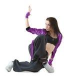 Dançarino do lúpulo do quadril Fotografia de Stock Royalty Free