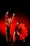 Dançarino do Latino fotografia de stock royalty free