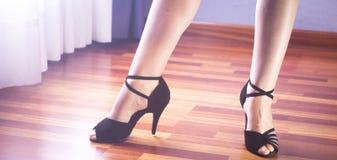 Dançarino do latino da dança de salão de baile Imagens de Stock
