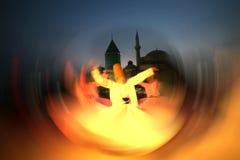 Dançarino dos Dervishes Fotos de Stock Royalty Free