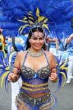 Dançarino em carnaval peruano Foto de Stock