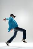 Dançarino fresco imagens de stock
