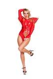 Dançarino Go-go Foto de Stock