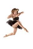 Dançarino gracioso foto de stock