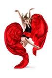 Dançarino gracioso #3 BB133616-1 Imagens de Stock Royalty Free