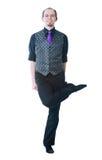 Dançarino irlandês fotografia de stock