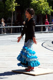 Dançarino japonês 25 do flamenco Fotos de Stock