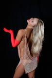 Dançarino Latin Fotos de Stock Royalty Free