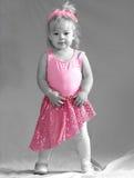 Dançarino minúsculo fotografia de stock