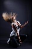 Dançarino moderno da mulher nova Fotografia de Stock Royalty Free