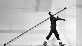 Dançarino moderno de Frence Foto de Stock Royalty Free