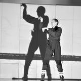 Dançarino moderno de Frence Fotografia de Stock