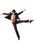 Dançarino moderno do estilo Imagem de Stock