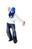 Dançarino moderno do homem fresco Fotografia de Stock