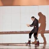 Dançarino moderno francês Imagem de Stock Royalty Free