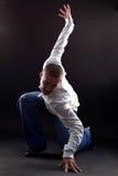 Dançarino moderno fresco imagem de stock