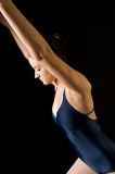 Dançarino moderno novo Foto de Stock Royalty Free