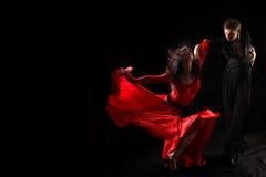 Dançarino na ação fotografia de stock