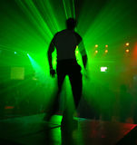 Dançarino na ação fotos de stock