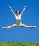 Dançarino na grama foto de stock
