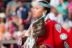 Dançarino nativo Imagem de Stock Royalty Free
