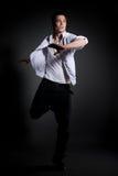 Dançarino novo Fotos de Stock Royalty Free