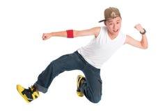 Dançarino novo do hip-hop imagens de stock