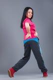 Dançarino novo e bonito da mulher Imagem de Stock Royalty Free