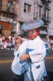 Dançarino novo na 49th parada da semana de Nisei Imagens de Stock